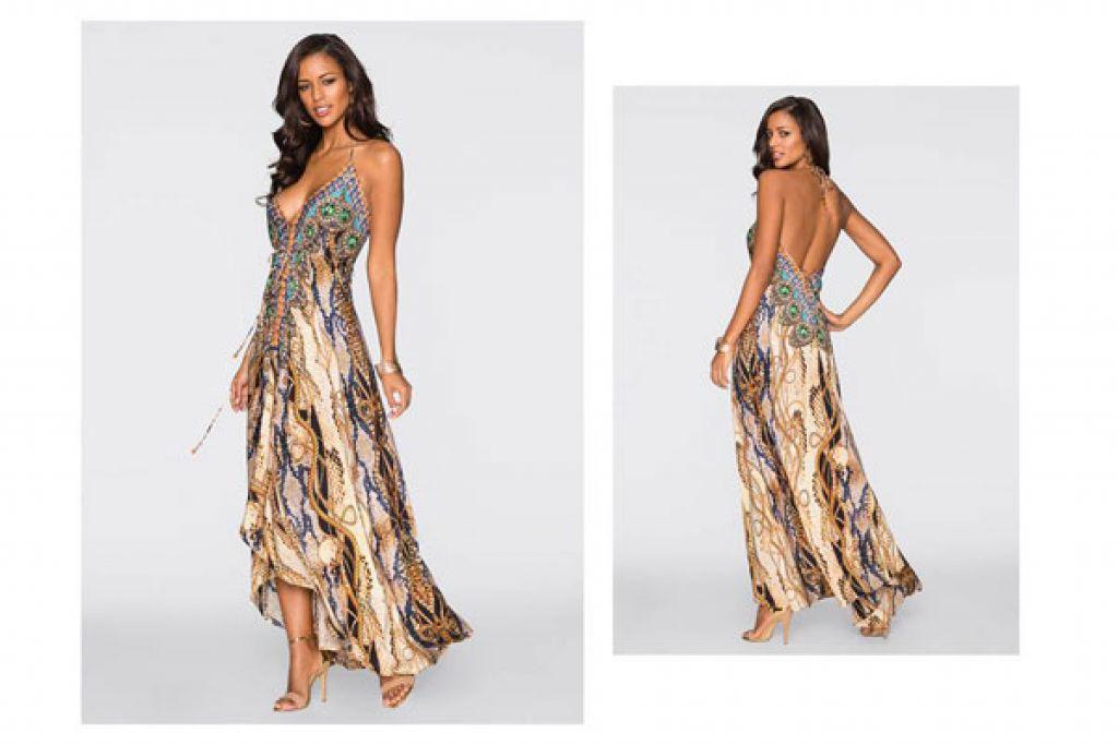 331755855f Sukienki z odkrytymi plecami. - Styling.pl