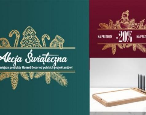Pomysły na prezent świąteczny od polskich projektantów