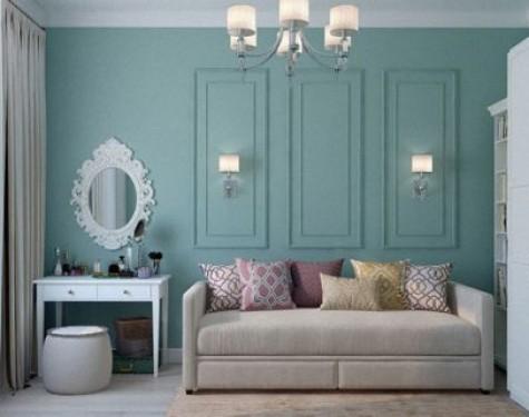 Minimalistyczne toaletki z lustrem w klasycznych kolorach
