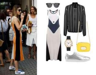 Street Style Look. Sportowe ubrania w nowej odsłonie!
