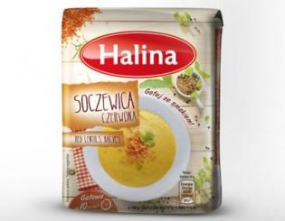 Zdrowe dania z soczewicy marki Halina