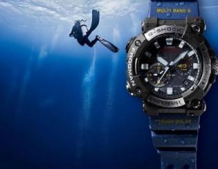 Nowy G-SHOCK Frogman GWF-A1000 –  legendarny zdobywca morskich głębin z analogową tarczą