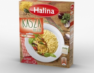 Zadbaj o szczupłą sylwetkę z kaszą bulgur marki Halina – najmniej kaloryczną  z kasz!