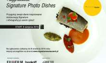Ruszyła 1. edycja konkursu Signature Photo Dishes